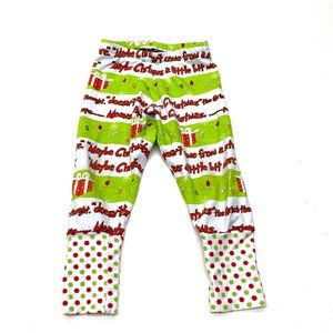 Dr. Seuss The Grinch Leggings Pants Christmas 2-3